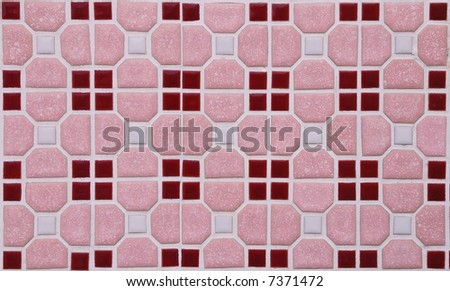 Pink marble block as background abstract texture - stock photo