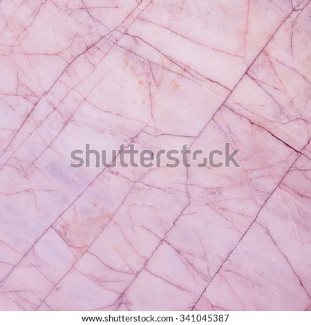 Pink marble texture background. - stock photo
