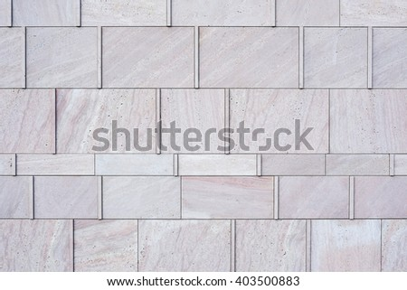 pink marble texture, stone background, stone facing detail, stone facade, luxurious stone wall - stock photo