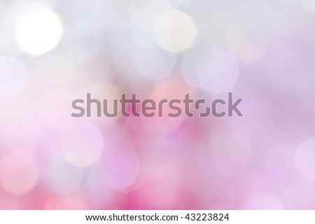 pink off focus bokeh background - stock photo