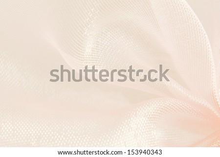 pink organza macro blurry texture background - stock photo