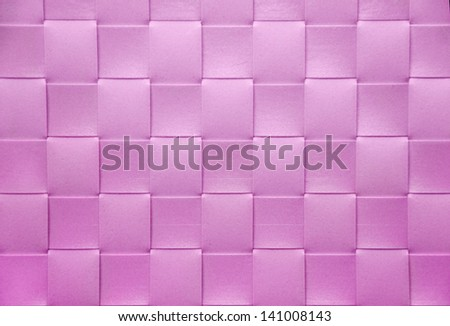 pink Placemat, texture - stock photo