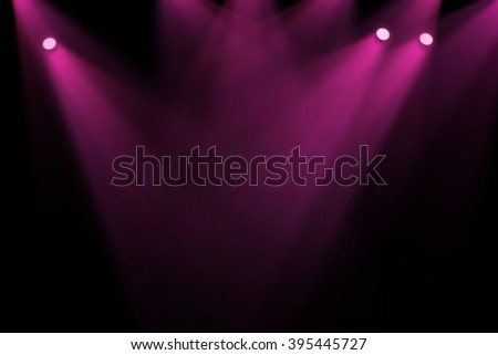Pink & Purple stage background - stock photo