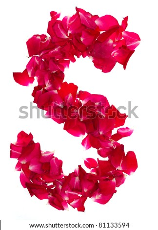 K Letter In Rose Rose Forming Petals Texture Stock Photos, Illustrations, and Vector ...