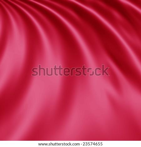 pink satin - stock photo