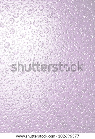 pink soft glass for texture or background - stock photo