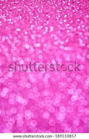 Pink sparkle bokeh background - stock photo