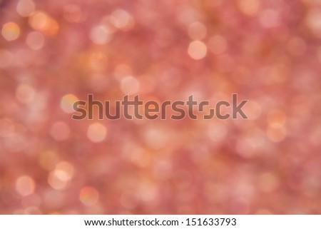 Pink sparkling light of silica gel with the sun shine. - stock photo