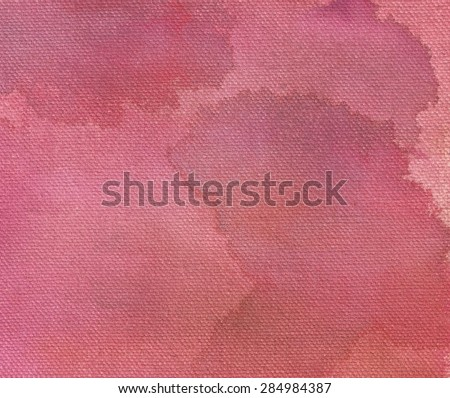 Pink watercolor abstraction background - stock photo
