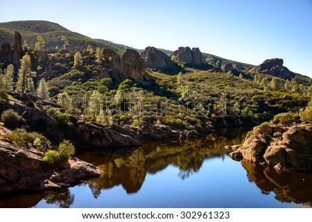 Pinnacles National Park - stock photo