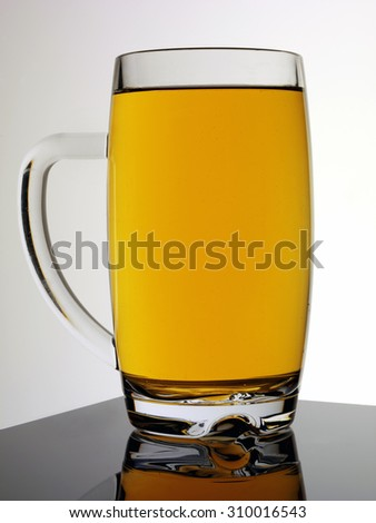 PINT OF CIDER - stock photo