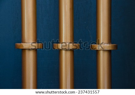 pipe line beer tank - stock photo