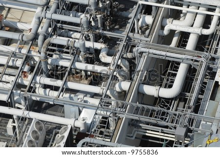 pipes - stock photo
