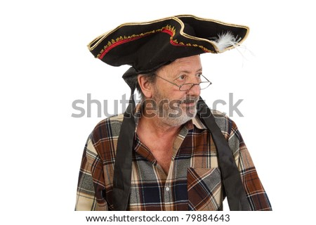 Pirate Captain - stock photo