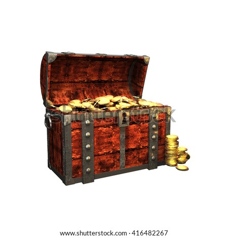 Stock Images similar to ID 86242747 - treasure chest