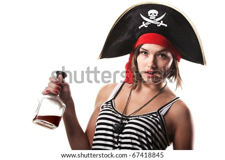 pirates - stock photo