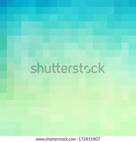 Pixel art seamless pattern, colors of nature. Great for background, texture  - stock photo