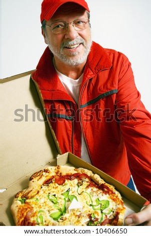 Pizza is ready - stock photo