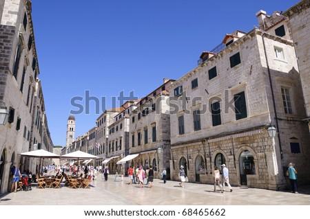 Placa - Dubrovnik, Croatia - stock photo
