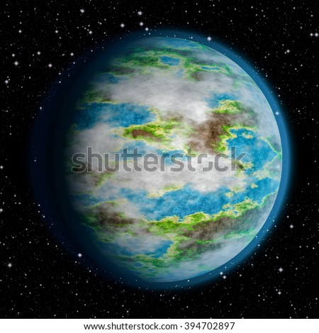 Planet earth surrounded by the stars. universe planet. universe planet. universe planet. universe planet. universe planet. universe planet. universe planet. universe planet. universe planet. planet.  - stock photo