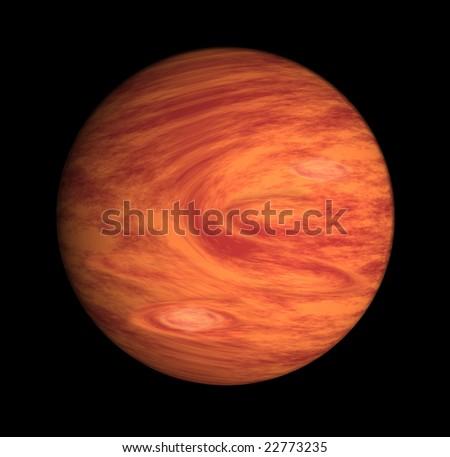 Planet Jupiter - stock photo