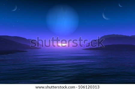 Planet Vision - stock photo