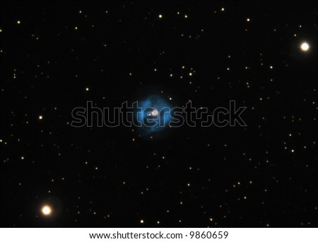 Planetary Nebula NGC1514 - stock photo