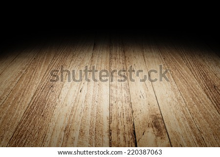 Plank wood floor texture background for display your product,Mock up template for your content - stock photo