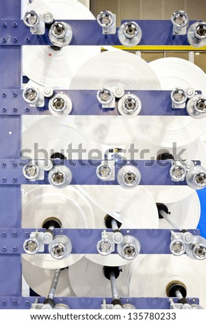 Plastic bag Industrial - stock photo
