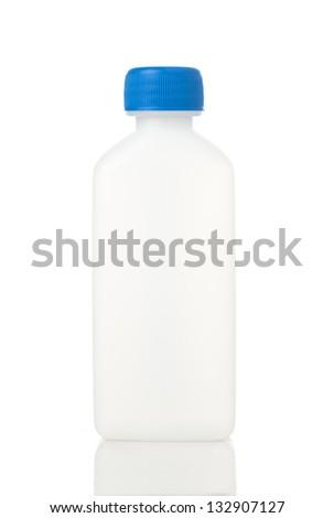 Plastic bottle - stock photo