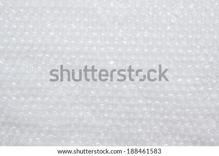 Plastic bubble wrap texture bacground - stock photo