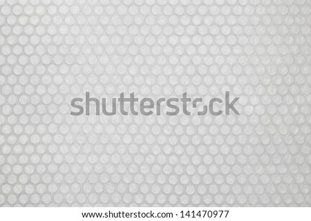 Plastic bubble wrap texture background - stock photo