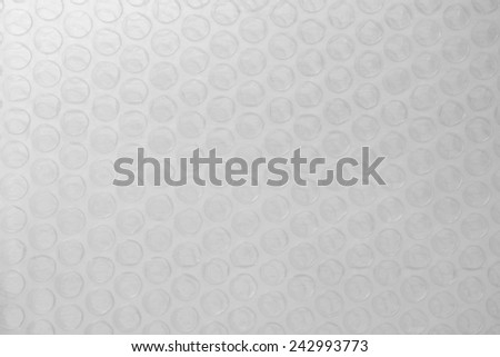 Plastic bubble wrap texture background, for packaging. - stock photo