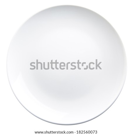 plate, plate on the background - stock photo