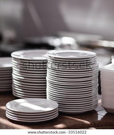 Plates - stock photo