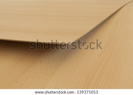 Plywood texture close up - stock photo
