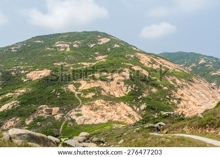Po Toi Country Trails in Hong Kong - stock photo
