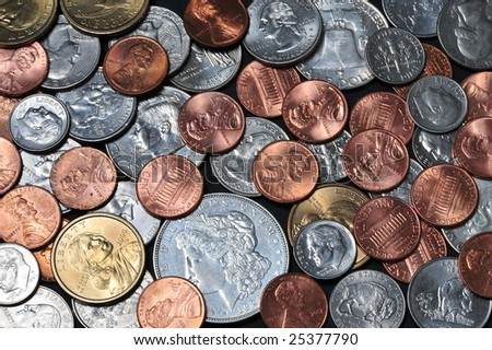 Pocket Change - stock photo