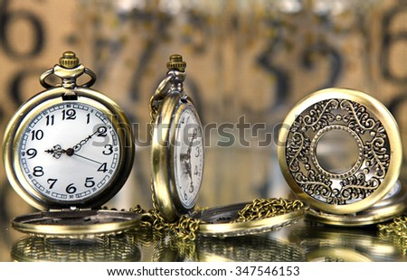 Pocket watches - stock photo