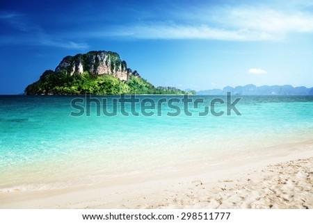 Poda island, Krabi province, Thailand - stock photo