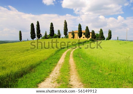 Podere - stock photo