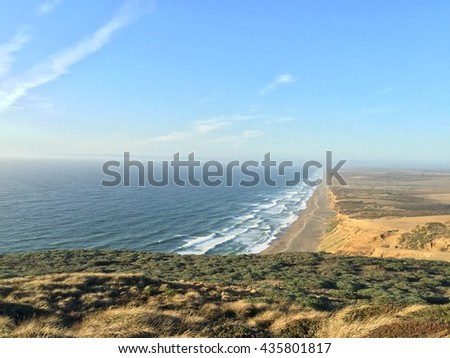 Point Reyes National Seashore, California - stock photo