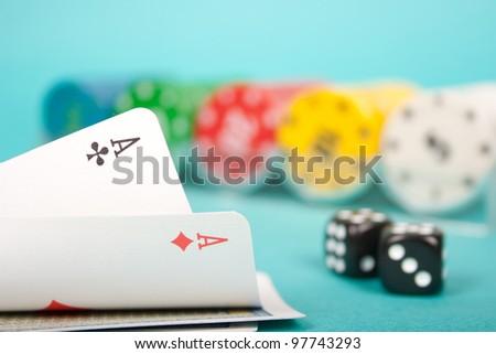 Poker Cards - stock photo