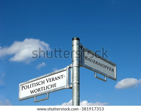 Policymakers - pawn - stock photo