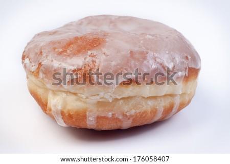Polish doughnut - stock photo