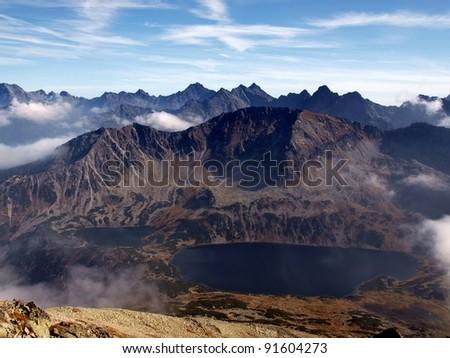 Polish mountains (Tatry) - stock photo