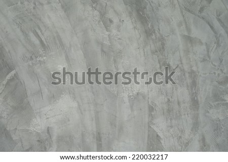 Polished grey new concrete texture - stock photo