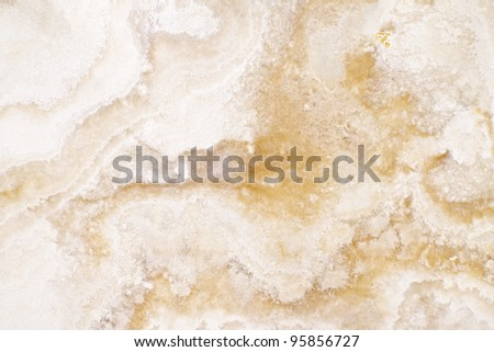 Polished marble surface detail closeup as background - stock photo