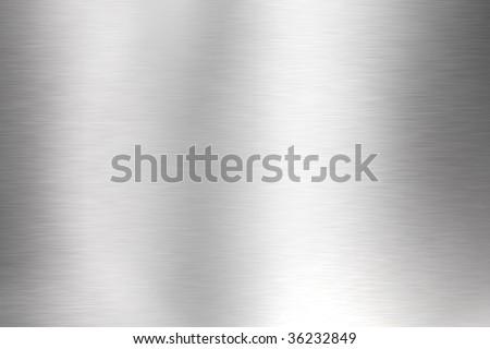 Polished metal background - stock photo