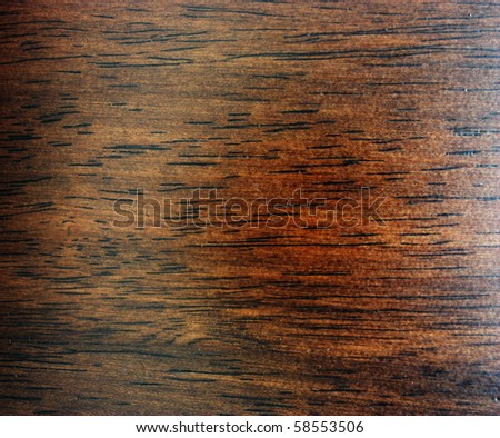 Polished Wood Texture - stock photo